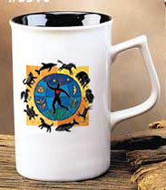NAIA coffee mug